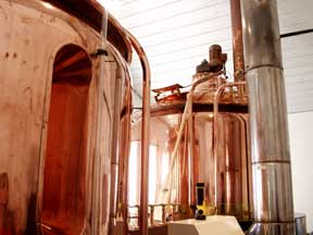 Tin Mill Brew House was built in Bamberg by the Caspary-Schultz brew house manufacturers. Tin Mill Brewery is located in Hermann, MO Missouri